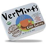 VerMints All Natural, Organic Cafe Express Pastilles, 6/1.4-oz Tins
