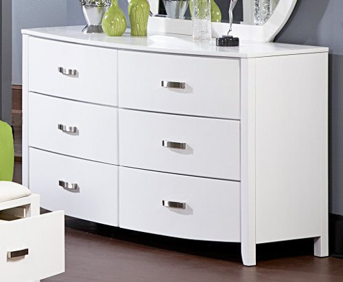 Lyric Dresser By Homelegance In White front-952187