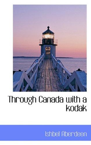 Through Canada with a kodak