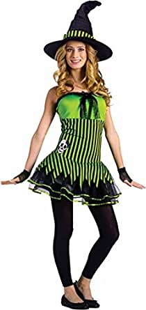Teen Rockin' Witch Costume - Juniors 0-9