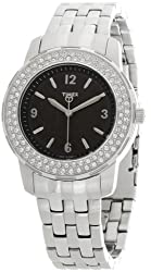 Timex Analog Black Dial Womens Watch - T2N147