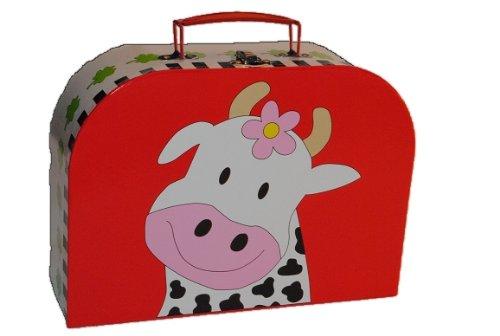 Kinderkoffer in 3 Größen ! bunte Kuh Groß