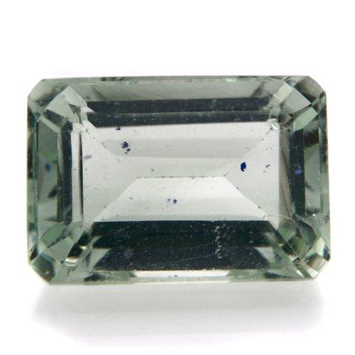 Natural Green Amethyst Loose Gemstone Emerald Cut 5cts 12*8mm SI Grade