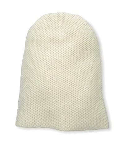 Portolano Women's Cashmere Hat, Yogi Ivory