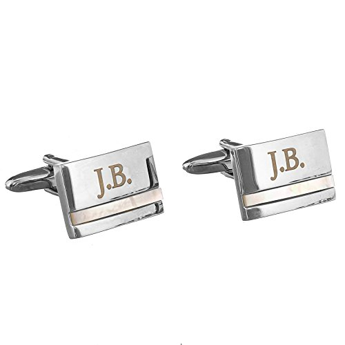 mother-of-pearl-personalised-cufflinks