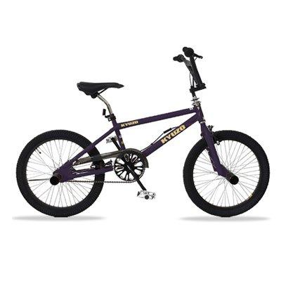 KYUZO キュウゾウ KZ-106 フリースタイルタイプBMX自転車 マットパープル(艶消し紫)