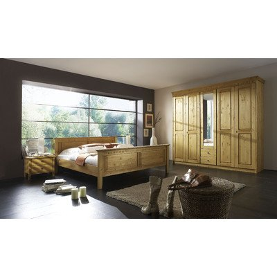 Forestdream 803001 Francesco Pine massiv antik gewachst Schlafzimmer