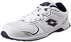 Lotto Men's White Mesh Running Shoes - 10 UK