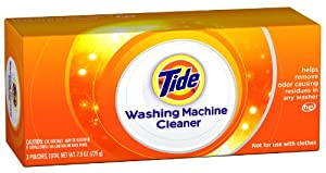 Tide Washing Machine Cleaner, 3 Pouches
