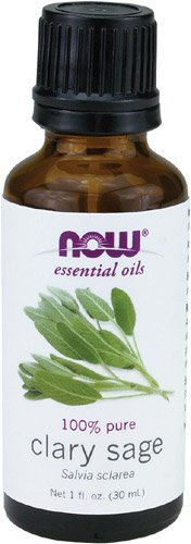 NOW Foods Clary Sage Oil, 1 ounce