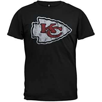 Kansas City Chiefs - Logo Soft T-Shirt by NFL