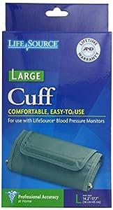 "LifeSource UA-281 Blood Pressure Monitor Cuff, Large (14.2"" - 17.7"")"