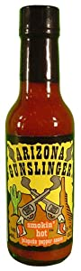 Arizona Gunslinger Hot Sauce 5 Fl.oz. by Arizona Pepper Products Co.