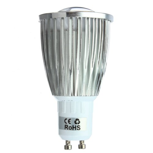 Kingso 7W Gu10 Cob 220V Led Dimmable Bulb Lamp Spot Light Bulb Pure White