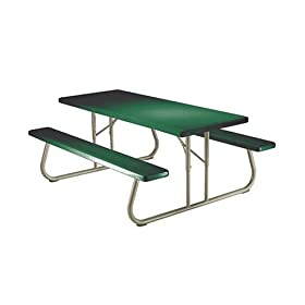Lifetime 22119 6-Foot Folding Picnic Table (Molded Top)