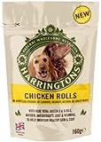 Harringtons Chicken Roll Dog Treats, 160 g, Pack of 8