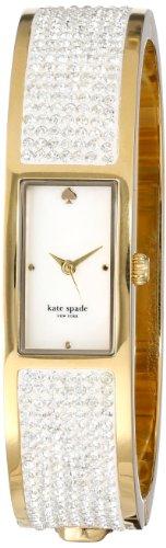 kate spade new york Women's 1YRU0317 Gold on the Rocks Carousel Watch