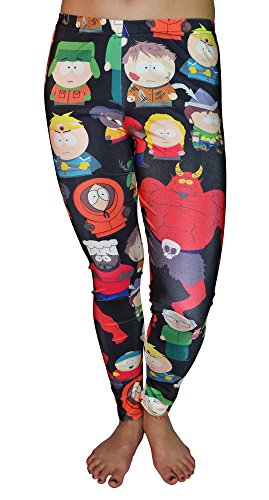 BadAssLeggings Women's South Park Leggings Medium