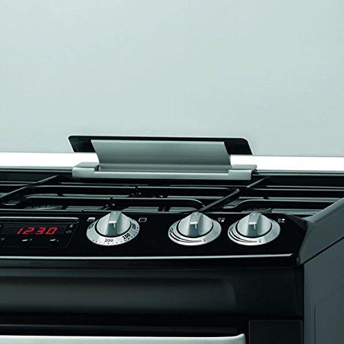Zanussi ZCG664GNC 600mm Double Gas Cooker FSD Hob Lid Black
