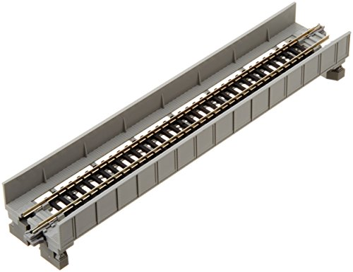 "N 186mm 7-5/16"" Plate Girder Bridge, Gray by Kato - 1"