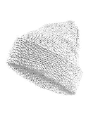 MasterDis Mütze Basic Flap Beanie, Farbe: weiss