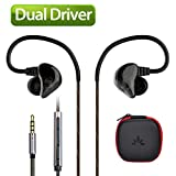 Avantree DUAL DRIVER High Definition In Ear Monitor...