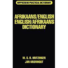 Afrikaans/English English/Afrikaans Dictionary
