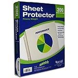 Samsill Non-Glare Sheet Protectors - 200ct