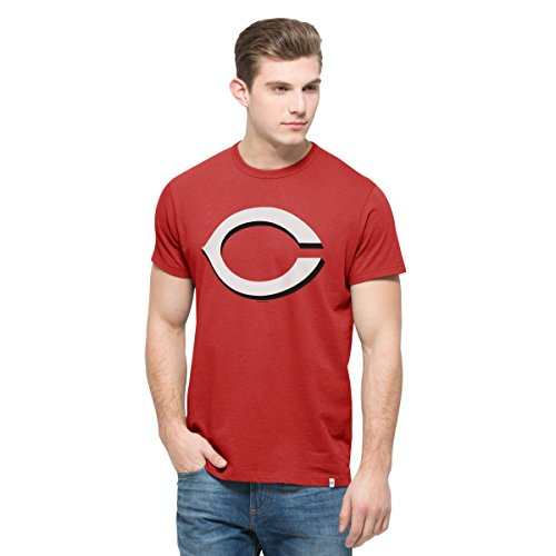 MLB Cincinnati Reds Men's '47 All Pro Flanker Tee, X-Large, Rescue Red