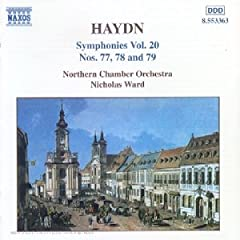 Haydn: Symphonies vol.20 Nos. 77, 78, 79