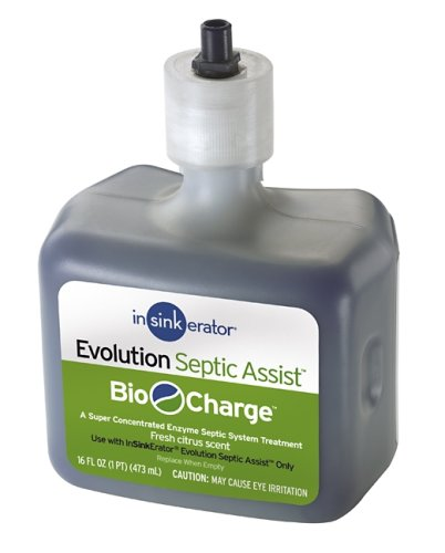 InSinkErator BIO-CG Evolution Septic Assist Bio Charge Replacement Cartridge, 16-Ounces (Insinkerator Replacement compare prices)