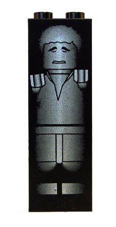 Han Solo in Carbonite - LEGO Star Wars Figure