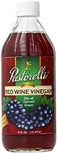 Pastorelli Red Wine Vinegar 16 Fluid Ounce Pack of 12