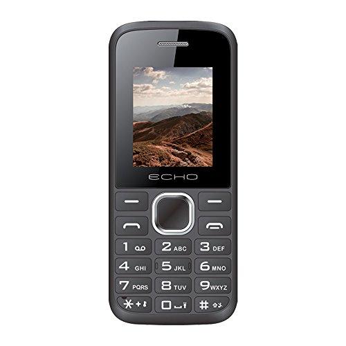 "ECHO FIRSTN - Móvil (Dual SIM, 1.77"") color negro"