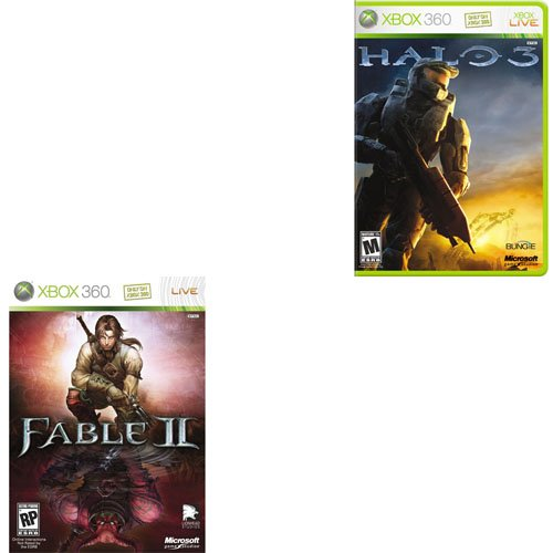 Halo 3 & Fable II Combo Pack (XBOX 360)