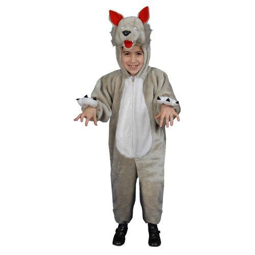 Kids Plush Wolf Child