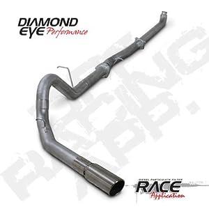 "'07.5-'10 Chevy Silverado, GMC Sierra Duramax 6.6L Diesel 2500/3500, 4"" Aluminized Turbo Back D.P.F. Race Single Exhaust"