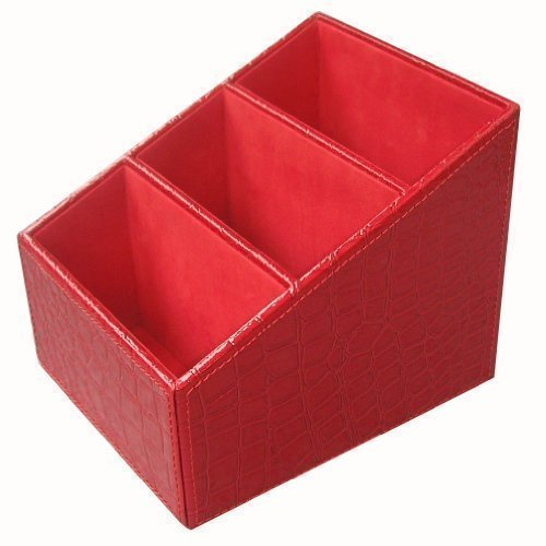 kingfomtm-3-slot-pu-leather-desk-remote-controller-holder-organizer-home-sundries-storage-box-tv-gui