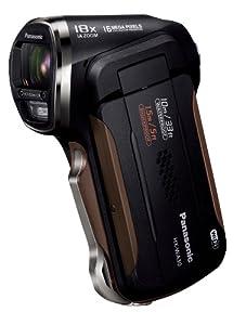 Panasonic デジタルムービーカメラ 防水&タフ設計 ブラック HX-WA30-K