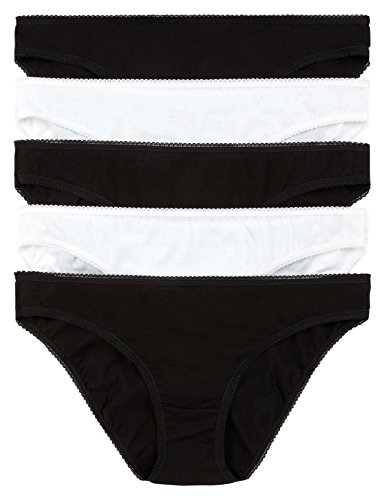 fa-m-ou-s-store-ladies-womens-3-pack-pure-cotton-bikini-knickers-2-colour-coices-12-black-3856-ll-04