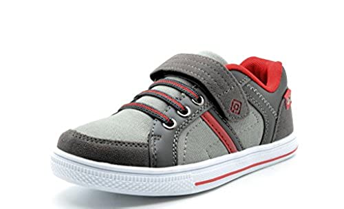 10. Dream Pairs Boy's Casual Velcro Strap Light Weight Slip On Casual Shoes Sneakers Loafers(Toddler/Little Kid/Big Kid)