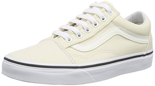vans-old-skool-sneakers-basses-mixte-adulte-blanc-casse-canvas-classic-white-42-eu-8-uk