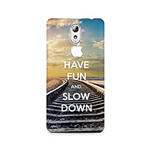 Mobicture Have Fun Premium Printed Case For Lenovo Vibe P1M