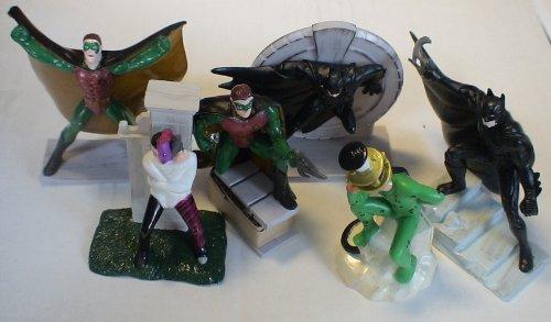 Picture of Applause Batman Forever Vintage Pvc Figure SET of 6 (B003T93FR4) (Batman Action Figures)