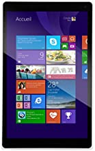 "Danew Dslide i812 Tablette tactile 8"" (20,32 cm) Intel Atom Z3735D 1,33 GHz 16 Go Windows 8.1 Wi-Fi Blanc"
