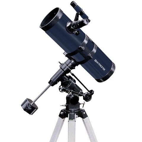 "Blue Twinstar 4.5"" Reflector Telescope Fast F/4.4 Eq Mount"