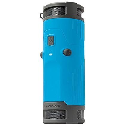Scosche 730283 Boombottle Enceinte pour Apple Bleu