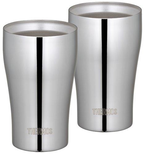 THERMOS 真空断熱タンブラーセット 320ml ステンレスミラー JCY-320GP1 SM