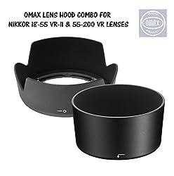 Lens hood for Nikon 18-55mm & Nikon 55-200mm Lens Combo Offer (Bayonet Type)LENS HOOD HB-69 IS FOR AF-S LENS & NOT FOR AF-P LENS PLEASE CHECK BEFORE BUYING.