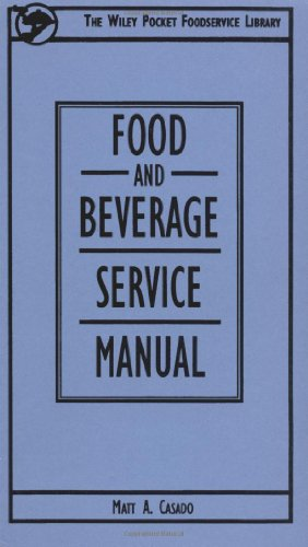 Food and Beverage Service Manual